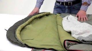 Просторный спальник-одеяло для летних путешествий.  Alexika Summer Wide Plus