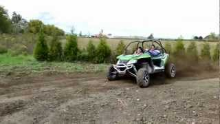4. Arctic Cat Wildcat 1000 Railing a Turn