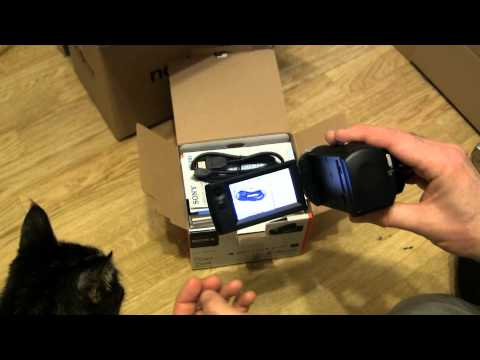 Sony HDR-CX240 Unboxing & Short Samples