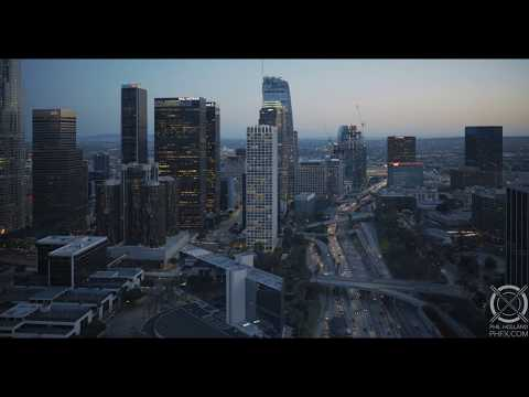 5 Minutes Above Los Angeles in 8K