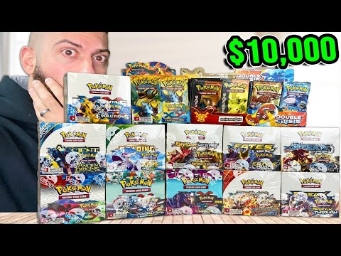 Unboxing EVERY Set Of Pokemon Cards | $10,000