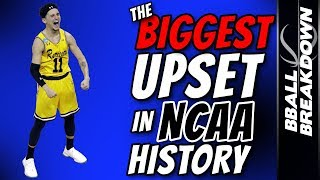 Video The BIGGEST Upset In NCAA History MP3, 3GP, MP4, WEBM, AVI, FLV Agustus 2019