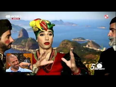 """Carmen Miranda – Life Coach"" – José Pedro Vasconcelos – 5 Para a Meia Noite"