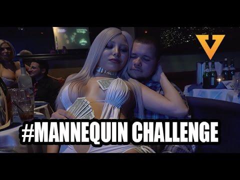 Vegas Strip Club Mannequin Challenge