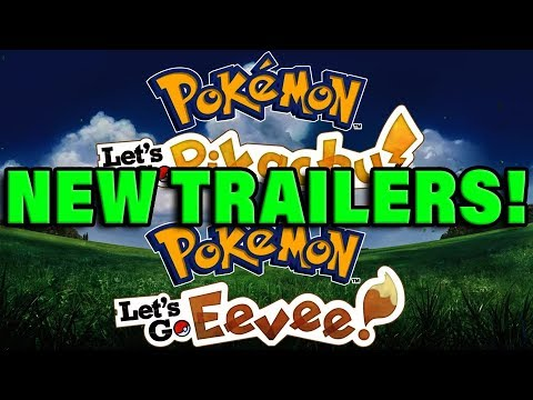 6 NEW POKEMON LET'S GO TRAILERS COMING SOON - Pokemon Let's Go Gameplay