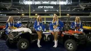 1. 2015 Bennche : Cowboy UTVs / with Dallas Cowboys Cheerleaders