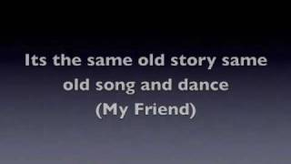 Same Old Song and Dance - Aerosmith With Lyrics