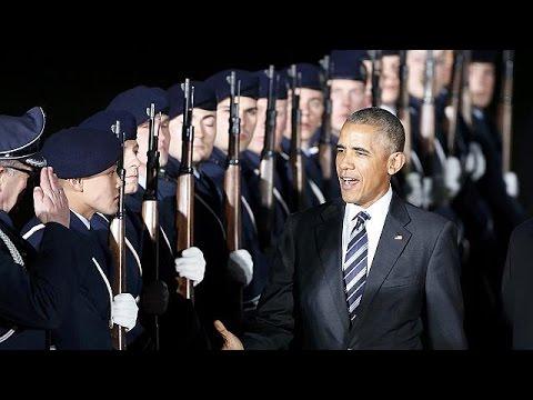 Στη Γερμανία ο Μπαράκ Ομπάμα – Συρία, Ρωσία και ΝΑΤΟ στην ατζέντα