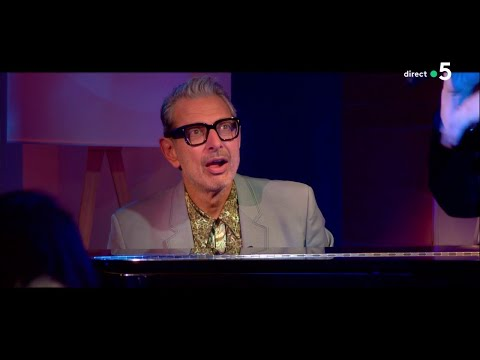 "Jeff Goldblum ""Come on-a-my house (live)"" - C à Vous - 19/11/2018"