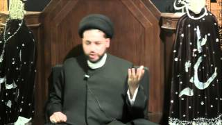 """10th Night of Muharram 1435: """"The Fight In A Secular World"""" by Sayed Mothafar Al-Qazwini"""
