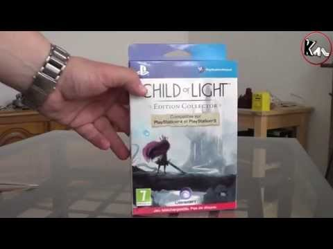 Unboxing Child Of Light Edition Collector (Euro Version)