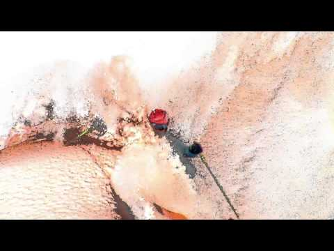 Spectacular Video of Skiing on Colored Snow