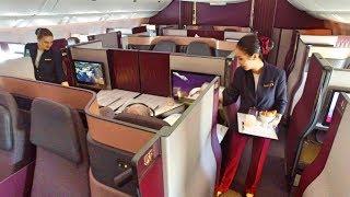 Video World's BEST Business Class - Qatar Airways Qsuite MP3, 3GP, MP4, WEBM, AVI, FLV September 2018