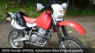 10. MotoUSA 2009 Honda XR650L Adventure Bike Project