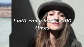 Sara Bareilles - 1000 Times Lyrics (HD)