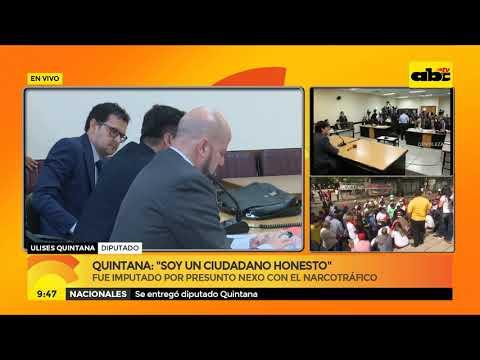 Quintana: ''Soy un ciudadano honesto''