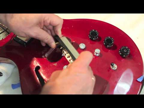 how to fit humbucker pickups
