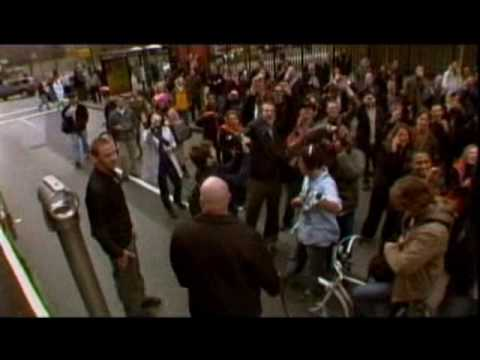 u2 - live angel of harlem - suprise subway new york 04-05-2015
