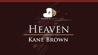 Video Kane Brown - Heaven - HIGHER Key (Piano Karaoke / Sing Along) download in MP3, 3GP, MP4, WEBM, AVI, FLV January 2017