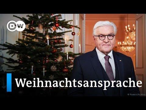 Steinmeier ruft in Weihnachtsansprache zum Dialog auf  DW Nachrichten