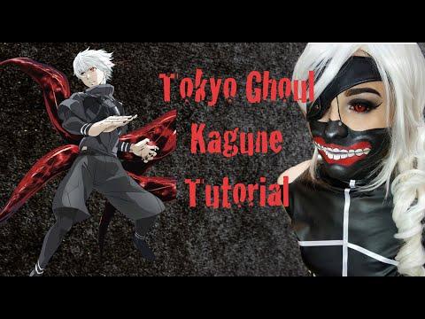 Tokyo Ghoul Cosplay Tutorial : Kaneki's Kagune