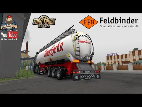 Owned Feldbinder silo trailer v1.1 fixed 1.35