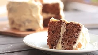 Moist Carrot Cake by Chowhound