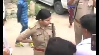The Real lady Singham of India, IPS officer Sreshtha Thakur,सैंकड़ों भाजपा कार्यकर्ताओं की बोलती बंद