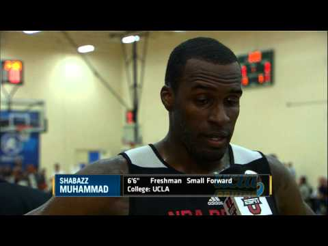 draft - Check out standout prospect Shabazz Muhammad working out and speaking to the media at the 2013 Draft Combine! Catch all the Combine coverage on ESPNU/ESPN 2 ...