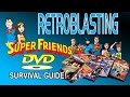 Super Friends DVD Survival Guide! DC Comics Warner Bros RetroBlasting