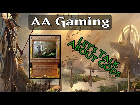 Let's Talk About Gods #4 - Amonkhet EDH Review - Rhonas, The Indomitable