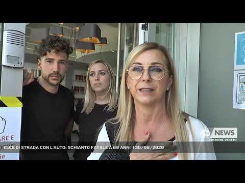 ESCE DI STRADA CON L'AUTO: SCHIANTO FATALE A 69 ANNI  | 30/06/2020