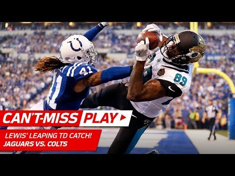 Video: Blake Bortles' Deep Ball Leads to Marcedes Lewis' Leaping TD Catch! | Can't-Miss Play | NFL Wk 7