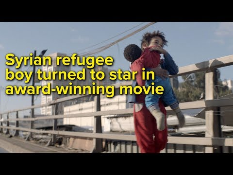 Syrian Refugee Boy Turned To star In Award-winning Movie