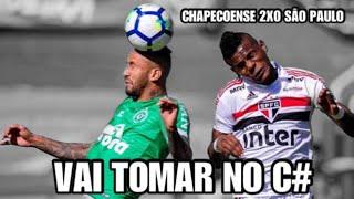 CHAPECOENSE 2 X 0 SÃO PAULO NARRAÇÃO