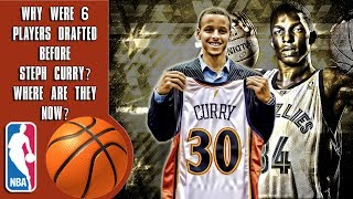 Video Why Were 6 Players Drafted Before Steph Curry? Where Are They Now? MP3, 3GP, MP4, WEBM, AVI, FLV Maret 2019