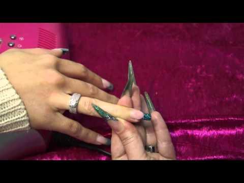comment poser ongle en gel
