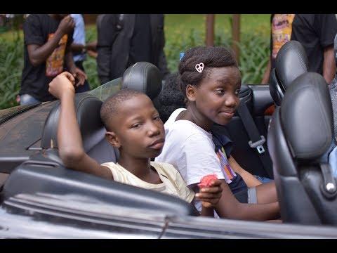 Emmanuella, Success and Mark Angel Comedy Arrivals in Kampala.