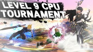 Alpharad did a Level 9 CPU Tournament