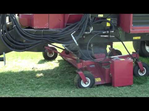 Sports Turf Post Dethatch Vacuuming