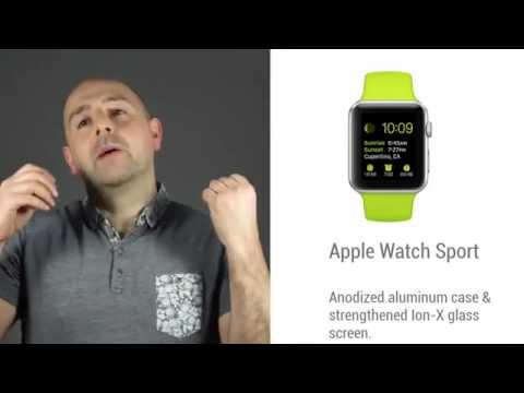 Apple Watch'a ekran testi