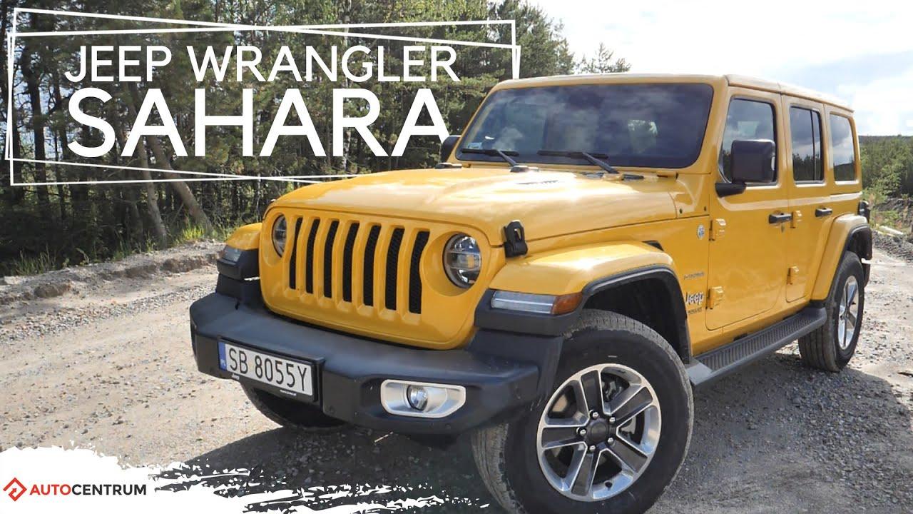Jeep Wrangler Sahara - To nadal Wrangler! | Test motoryzacyjny