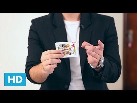 Como fazer Mágicas Grátis - Como transformar uma carta em um piscar de olhos