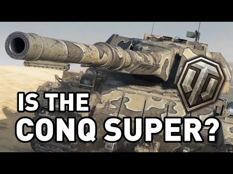 Is the Conqueror Super in World of Tanks? (видео)