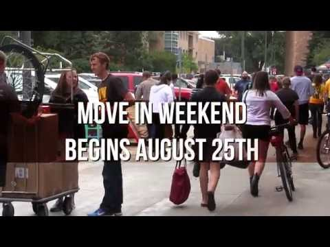 Video for the 2016 Residence Hall Move-In