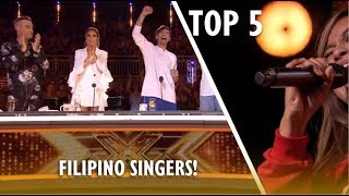 Video TOP 5 Most AMAZING FILIPINO SINGERS EVER ON X FACTOR UK! MP3, 3GP, MP4, WEBM, AVI, FLV November 2018