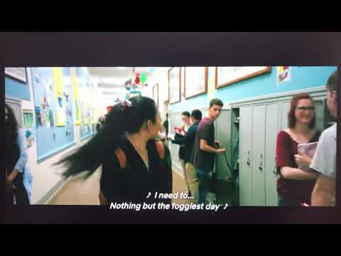 To All the Boys I've Loved Before (2018) - First Day of School Scene