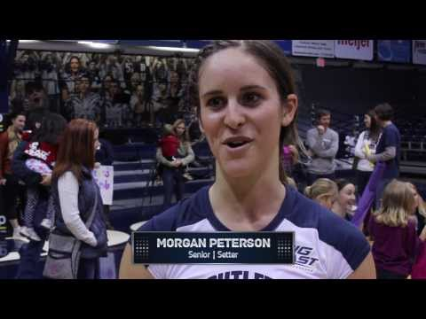 Butler Volleyball Highlights vs. Villanova