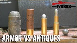 Spartan Armor vs Antique Rifles