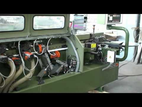 Holz-Her Kantenanleimmaschine Typ 1438 -- KUPER Gebrauchtmaschine